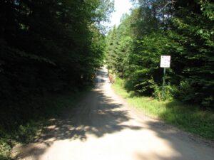 Tucker Road looking west - FLT M24