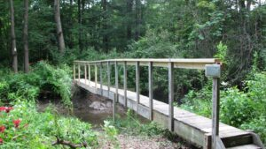 Tug Hollow Creek Bridge - newly repaired