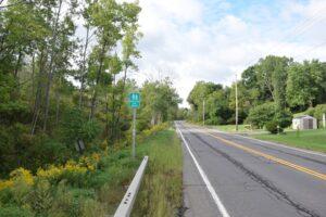 Trailhead on Knight Settlement Road