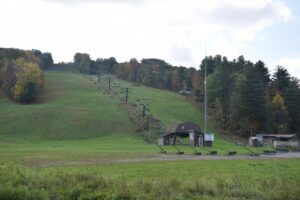 Ski lift at Swain Ski resort